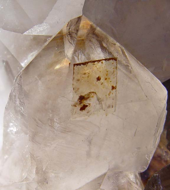 Quartz With Gold Inclusions : Diamond hill quartz enhydro phantom